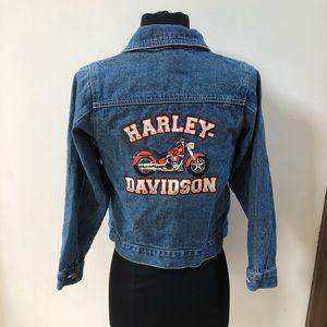 FINAL SALE Harley-Davidson Jean Jacket